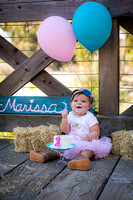 Marisa ~ One year pics!